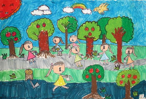 2012加拿大国际儿童艺术展参展作品网上评选(十四)